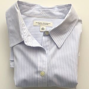 Banana Republic non-iron fitted button down